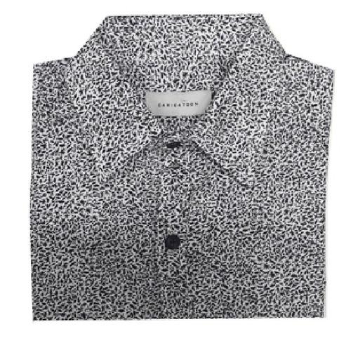 corta niño camisa manga