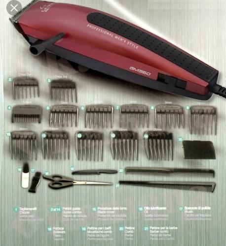 corta pelo / barba gm560z 21 accesorios