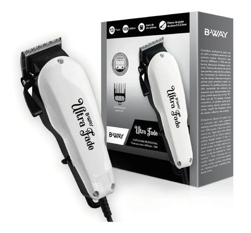 corta pelo barba profesional bway ultra fade 0000 0,5-2,5mm