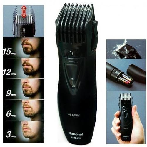 corta pelo barba y bigote panasonic er2403 5 medidas