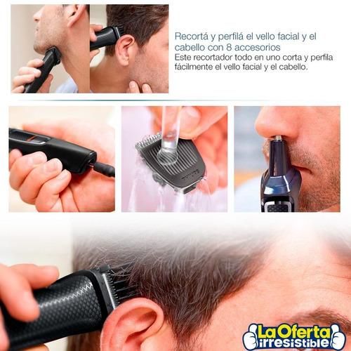 corta pelo philips mg3730 8 en 1 inalámb rostro cabello loi