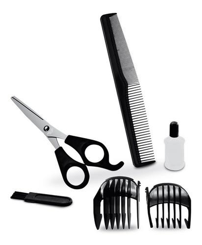 corta pelo y barba inalámbrica punktal 10 niveles 6 acc loi