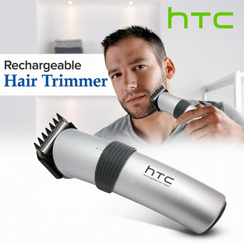 corta pelo y barba recargable 3 niveles htc at-513 para papá