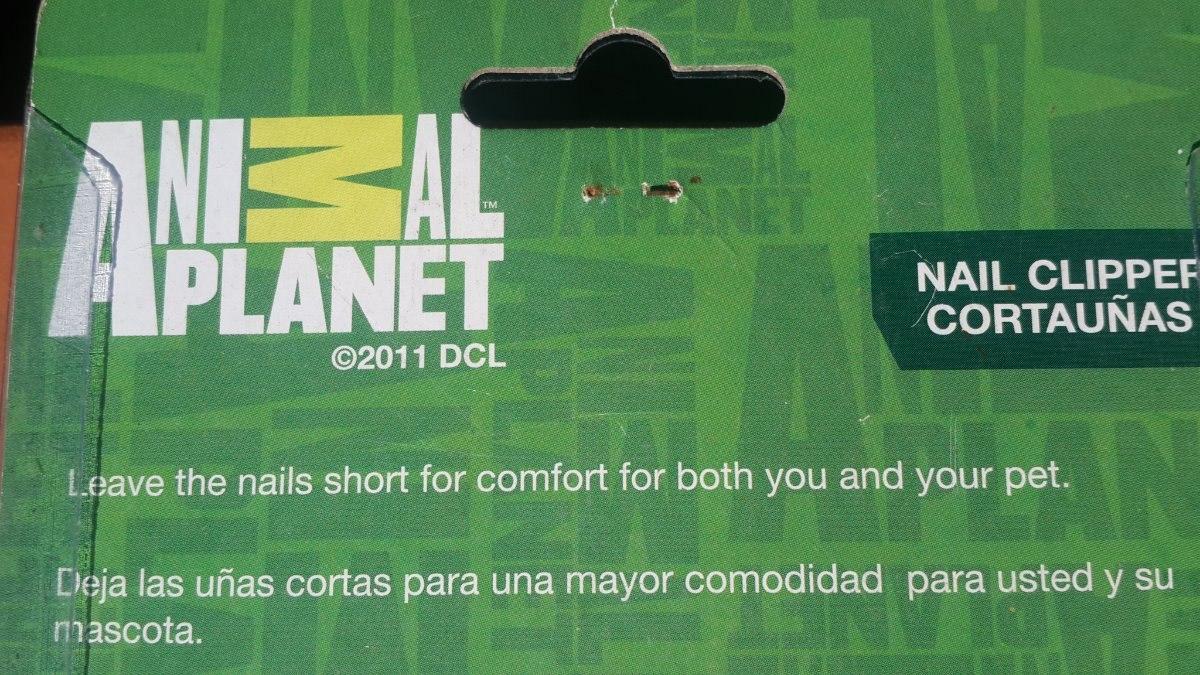 Corta Uñas Para Mascotas Animal Planet - Bs. 24.000.000,00 en ...