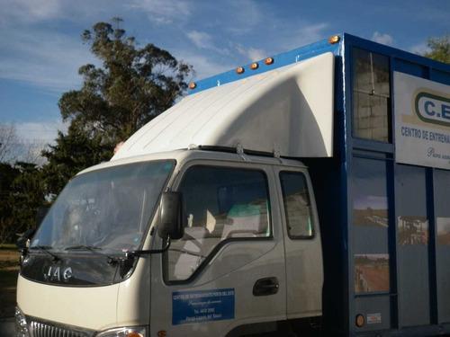 corta viento de camiones o deflectores