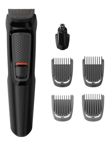 cortabarba multigroom philips mg3711/15 series 3000 6 en 1