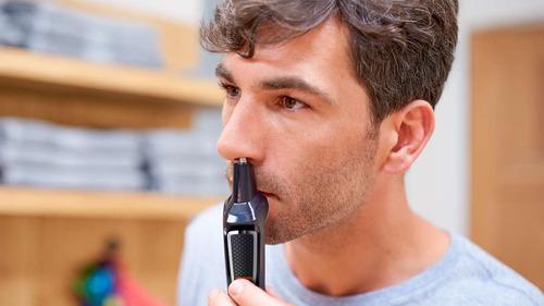 cortabarba multigroom philips mg3730/15 barba cabello nariz