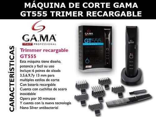 cortabarba y bigote gama gt555
