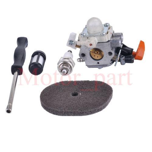 cortabordes de carburador aire filtro ajustar herramienta aj