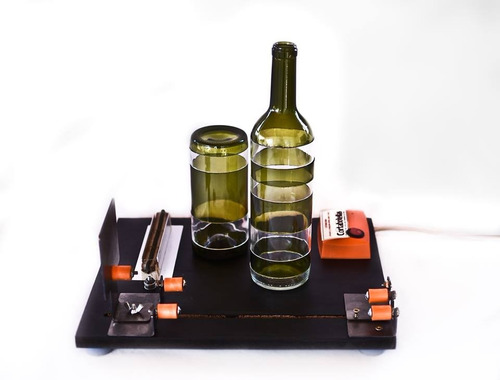 cortabotellas - máquina cortadora de botellas original (esc