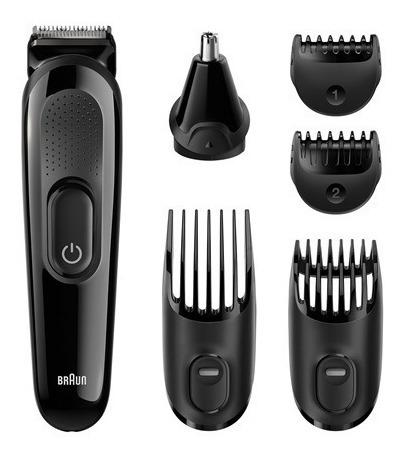 cortacabello braun mgk3020 con cortabarba y afeitadora