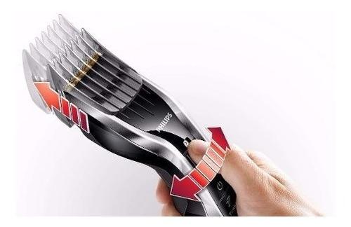 cortacabello y barba philips cuchillas titanio hc5450 retira