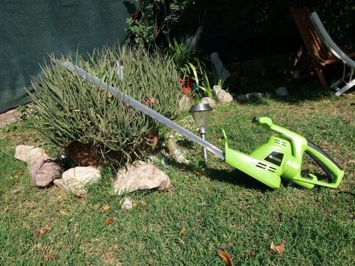 cortacercos eléctrico forest garden 600w espada 56cm