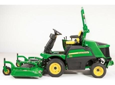 cortacesped frontal 1550 terraincut john deere tractor