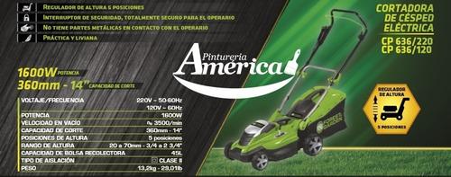 cortacesped linea verde forest & garden cp636 1600w