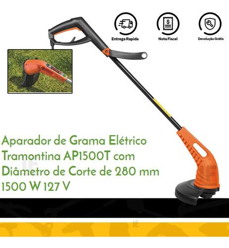 cortador aparador de grama 1500w ap1500t tramontina 110v