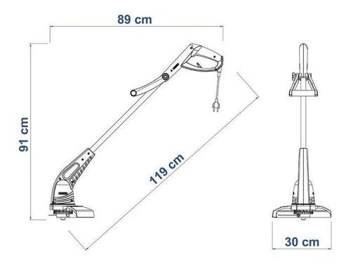 cortador aparador de grama elétrico 1500w ap1500t tramontina