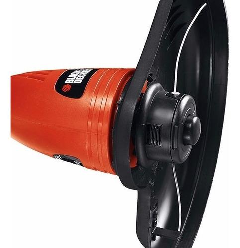 cortador aparador de grama elétrico 500w black decker 110v