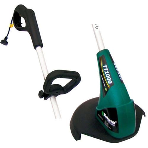 cortador aparador de grama elétrico 900w tekna para casa