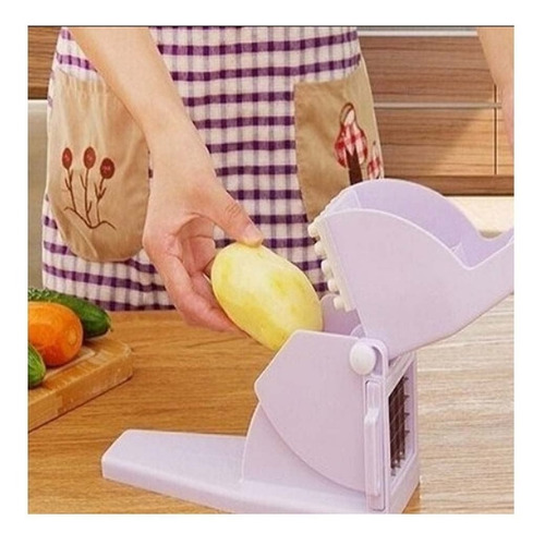 cortador batata palito picador fatiador de legumes  kehome