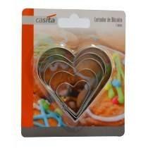 cortador biscoito coração