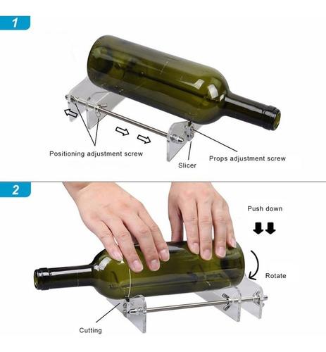 cortador botellas vidrio tequila corta vasos lamparas cahuam