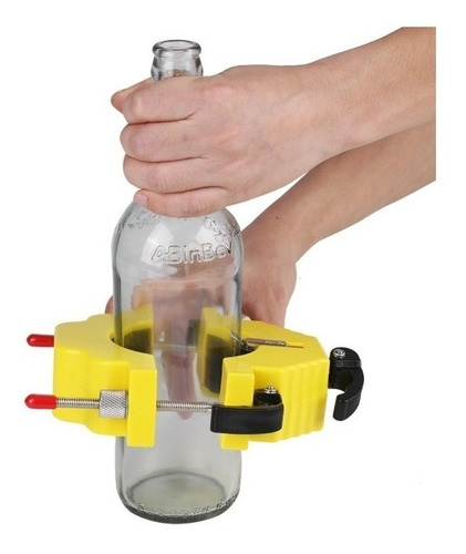 cortador botellas vidrio vino tequila corta vasos lamparas