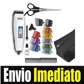 21798b454 Máquina De Cortar Cabelo Wahl Profissional 17 Peças Com Dvd ...