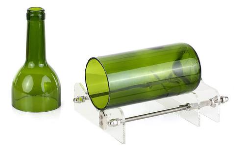 cortador de botellas de vidrio acrílico diy botella