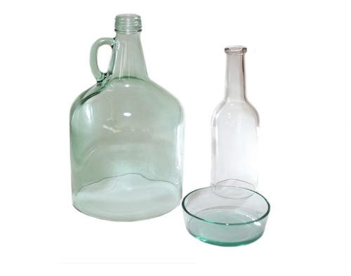 cortador de botellas de vidrio versión básica + barras extra