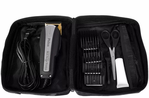cortador de cabelo dual action titanium philco tesoura 220v