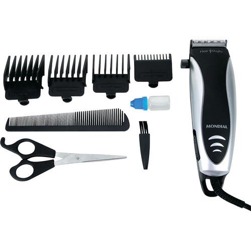 cortador de cabelo mondial cr-02 hair stylo 4 alturas-110v