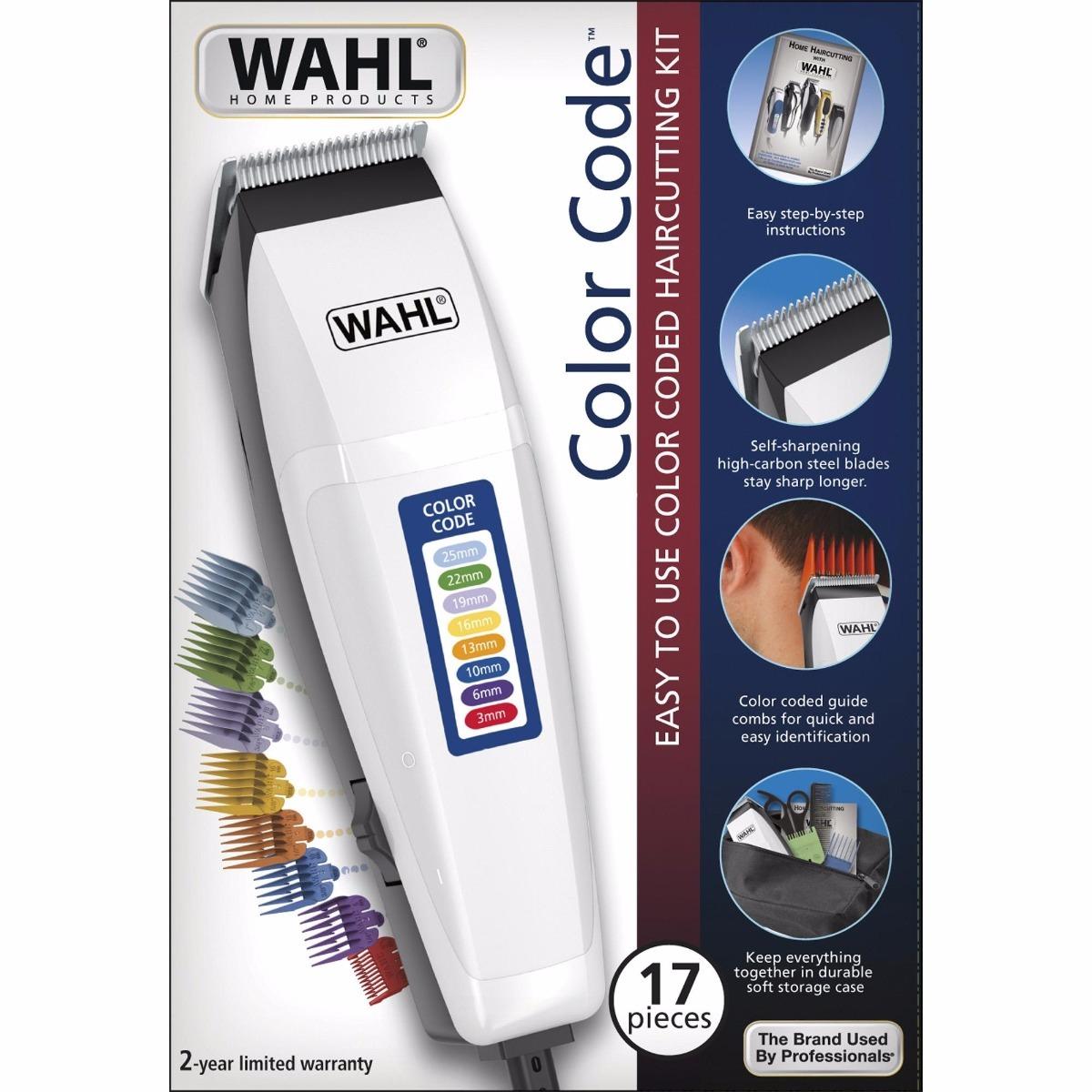 29c392187 cortador de cabelo wahl pro 17ac maquina acabamento vr 110v. Carregando zoom .