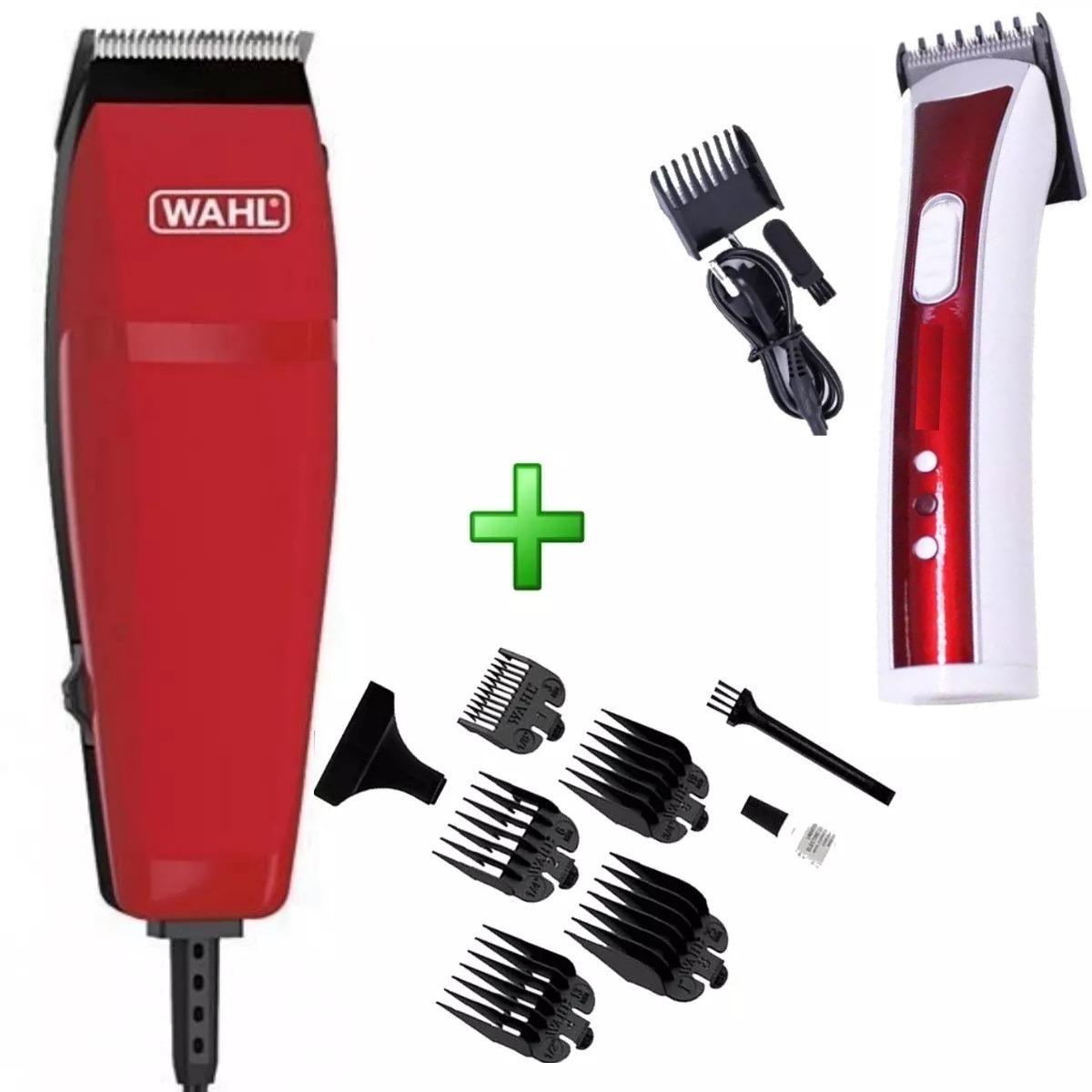 37421f6c7 cortador de cabelo wahl vr + maquina acabamento aparador. Carregando zoom.