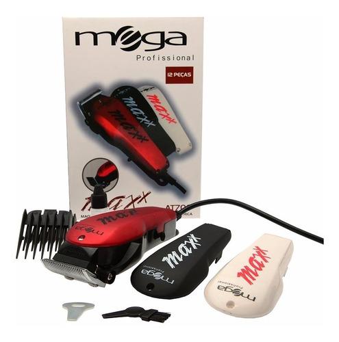 cortador de cabelos profissional mega at-700 maxx 220v