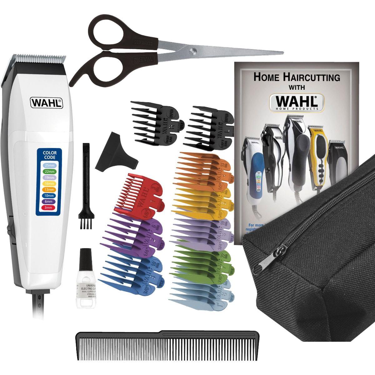 5f7fc4a2c cortador de cabelos profissional wahl 17 acessórios col 110v. Carregando  zoom.