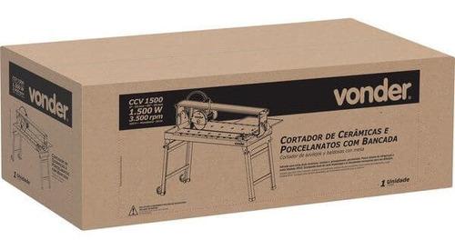 cortador de cerâmicas e porcelanatos com bancada ccv 1500 22