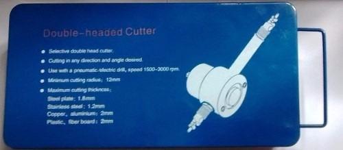 cortador de chapa adaptável com qualquer furadeira