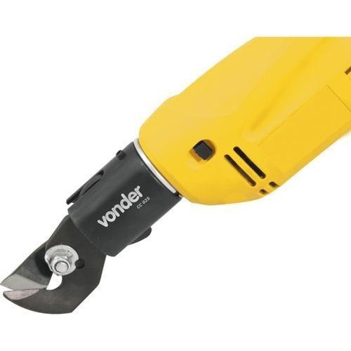 cortador de chapa capacidade de 1,5 mm cc 025 vonder
