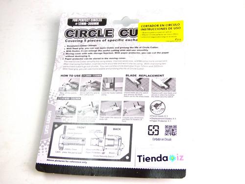 cortador de circulos para papel circular troquel