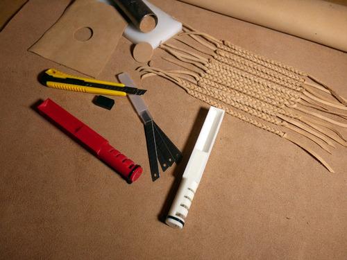cortador de couro em tiras nacional tipo lace maker