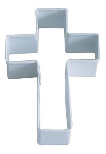 cortador de galleta r y m cross 4 blanco con acabado de poli