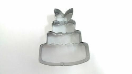 cortador de galletas pastel* acero inoxidable