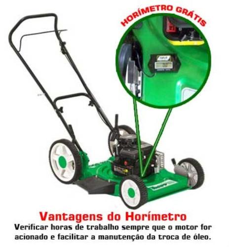 cortador de grama 3,75 hp rm-80g 4 t roda alta trapp