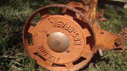 cortador de grama antigo alibohr - rgs brasil - funcionando