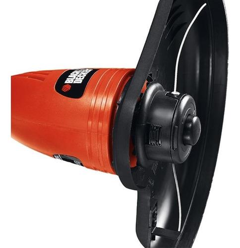cortador de grama costal 500w gl300p black+decker