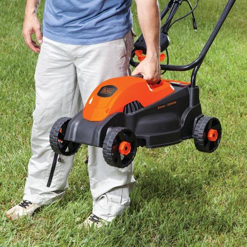 cortador de grama elétrico com recolhedor gr1000 1200w b+d