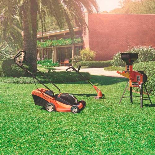 cortador de grama elétrico tramontina ce35p 1300w com recolh