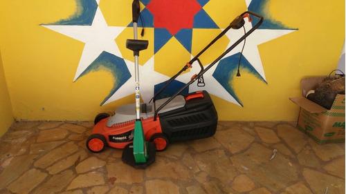 cortador de grama famastil 110volts+ aparador trapp229volts