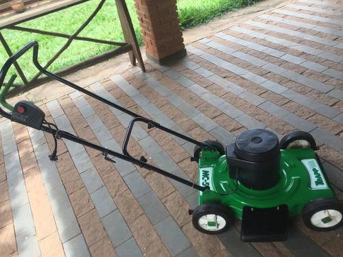 cortador de grama trapp modelo mc 50e verde pouco usado